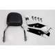 Complete Backrest/Mount Kit with Small Steel Backrest - 34-1108-01