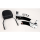 Complete Backrest/Mount Kit with Small Steel Backrest - 34-1109-01