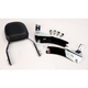 Complete Backrest/Mount Kit with Small Steel Backrest - 34-2103-01