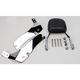 Complete Backrest/Mount Kit with Small Steel Backrest - 34-4110-01