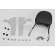 Touring Quick-Detach Passenger Backrest Kit w/8 in. x 8 in. Pad - 34-5209-01