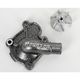 Silver Supercooler Water Pump Cover and Impeller Kit - WPK-07A