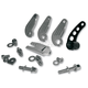 Chrome Side-Mount License Plate Kit for 3/4 in. Axle - FSM-01-A-C