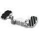 Billet  Aluminum Adjustable Passenger Floorboards W/Mounts - HD005A