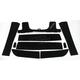 Black Ride Mat - HT63PSABLK