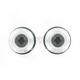 Silver 10mm D Axis Spools - DXS-10.1-SL