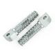 Gun Metal SBK Pegs for OEM Mounts - 04-01201-29