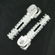 Silver SBK Pegs for OEM Mounts - 05-01200-21