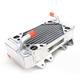 Left X-Braced Aluminum Radiator - MMDBCRF15007LX