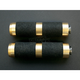 2 1/4 in. Brass Rubber Inlay Shifter/Brake Pegs - PT120-SR5