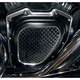 Black Anodized Cross Cut Cam Cover - TC-936B