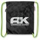 Black Cinch Bag - 3517-0327