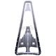 Chrome Dimpled Frame Filler Grill - C0042-C
