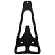 Black Dimpled Frame Filler Grill - C0044-B