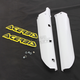 White Lower Fork Cover Set For Inverted Forks - 2404730002