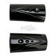 Black V-Line Fork Tube Covers - TM-085BK