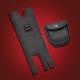 Black Classic Left Side Saddlebag Pouch - HD90-005BKL