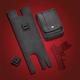 Black EZ Carry Compact Left Side Concealed Pouch - HD90-008CCL