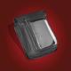 Black Premium Double Add-A-Pocket Pouch - H18LPC-2BK