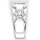 Artistic Contrast Chrome Fusion Frame Grille - LA-F360-00