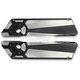 Matte Black Fusion Saddlebag Latch - LA-F390-00M