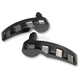 Matte Black Fusion Saddlebag Lid Handles - LA-F395-00M