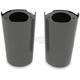 Black Fork Slider Covers - 0411-0118