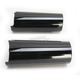 Black +2 Fork Slider Covers - 0411-0119