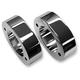 Chrome Fork Slider Cover Spacers - FSS-001-C