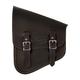 Leather Left-Side Inside Out Saddlebag - IOBLBB