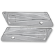 Chrome Majestic Saddlebag Latch Covers - RC-BL-02C