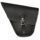 Leather Left-Side Sporty Sack Saddlebag - SSLBNL
