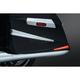 Chrome/Red LED Saddlebag Extensions - 7170