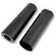 +4 in. Gloss Black Fork Slider Covers - 10.5 in. - 0411-0046