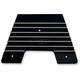 Black Diamond Cut Finned Firewall Plate - C1340D