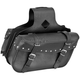 Studded Medium Slant Momentum Saddlebags - 10-9008