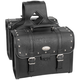 Studded Rigid Box Quest Saddlebags w/Lock - 10-8972