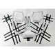 Aluminum Nerf Bars w/Net Heel Guards - Y041078