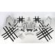 Aluminum Nerf Bars w/Net Heel Guards - Y099037