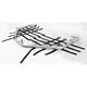 Brush Aluminum Trail Series Nerf Bars - 0530-1223