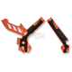 Orange/Black X-Grip Frame Guards - 2374251008