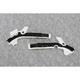 White/Black X-Grip Frame Guards - 2449521035