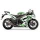 Sportbike White/Green Graphic Kit - 60102