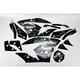 Sportbike Black/White Graphic Kit - 60103
