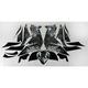 Sportbike Black/White Graphic Kit - 60106