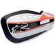 Orange Moto Handguard Sticker Kit - HG-100-GK-OR