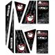 ATV Metal Mulisha Decal Trim Kit - 16-50020