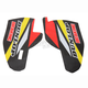 Yellow/Black/White/Red Lower Fork Protectors - N10-151