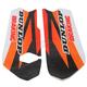 Orange/Black/White/Red Lower Fork Protectors - N10-155