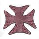 Pink Cross Helmet Bling - PCHBIRONP